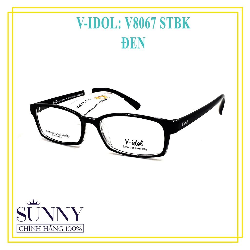 Gọng kính chính hãng Vidol V8067 - kèm tem thẻ bảo hành toàn quốc