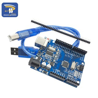 Bảng mạch phát triển UNO R3 (CH340G) MEGA328P cho Arduino UNO R3 với cáp USB ATMEGA328P-AU