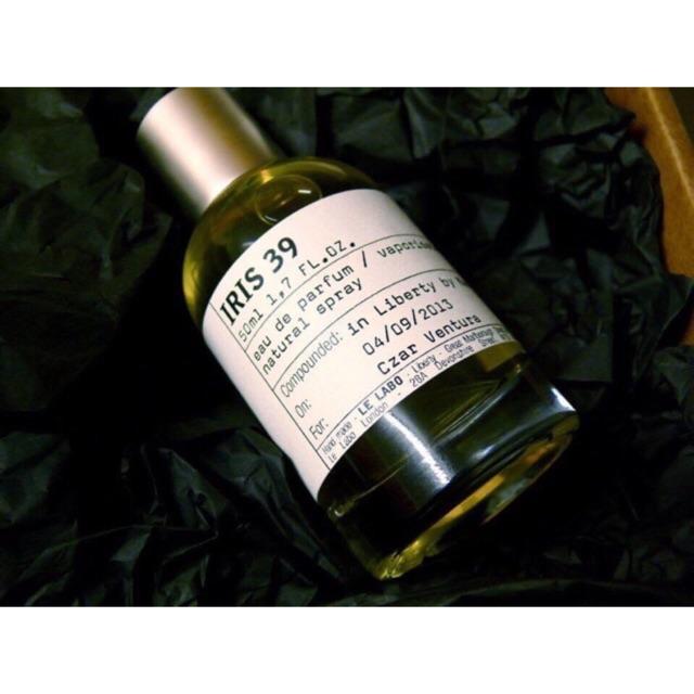 [REAL] mẫu thử nước hoa le labo iris 39 10ml