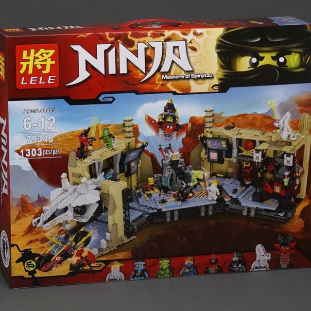 Lego ninja 79348- Hỗn chiến hang sumurai