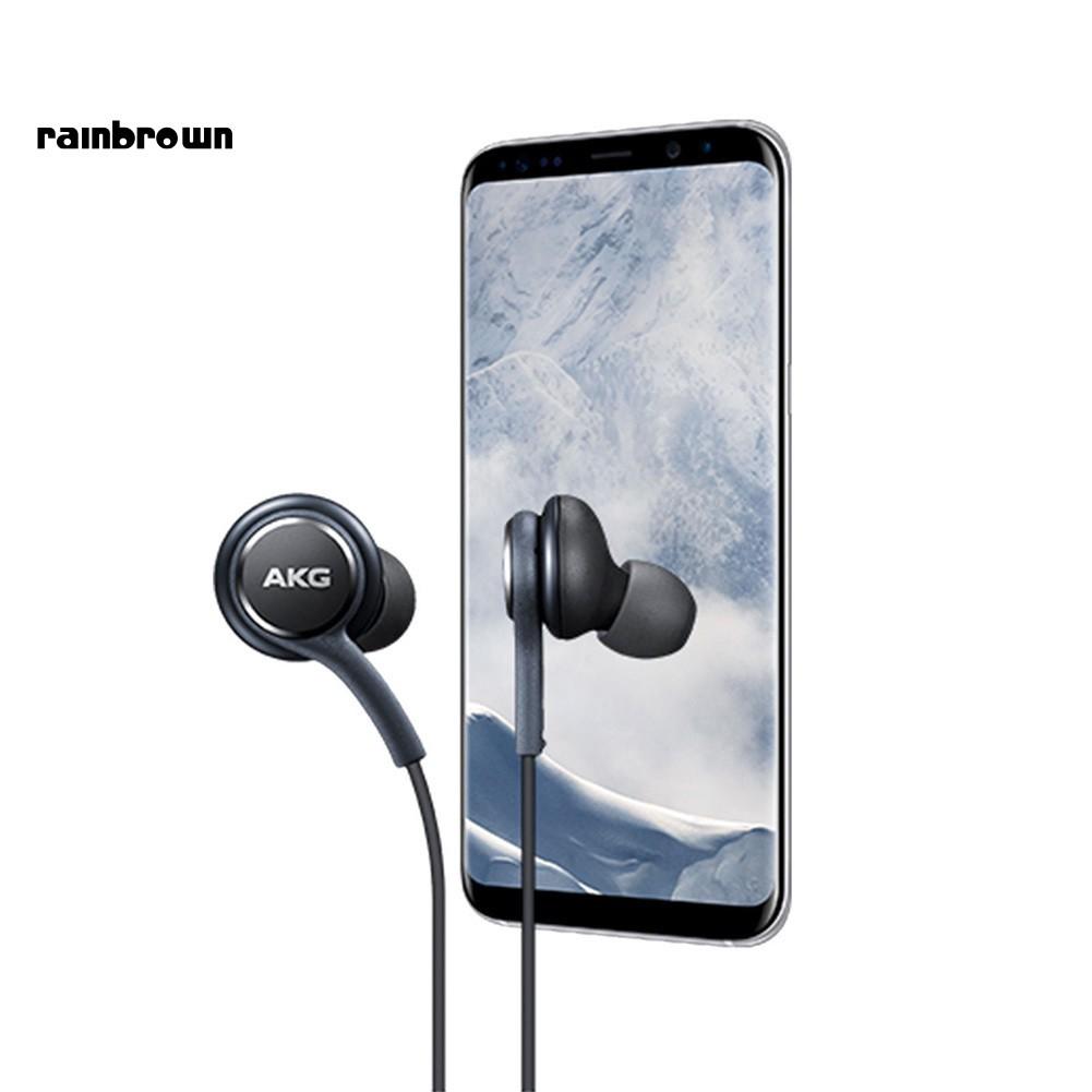Tai Nghe Thể Thao Rb Akg Samsung S10 Plus S10E Hifi Có Dây Chuẩn 3.5mm