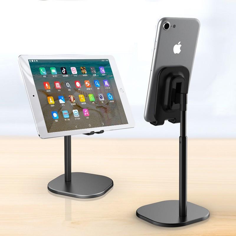 Giá đỡ điện thoại, máy tính bảng hợp kim nhôm cao cấp, nhẹ nhàng, thanh lịch, hiện đại, điều chỉnh góc 35°