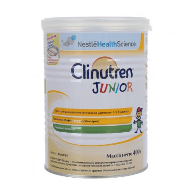 [Mã 267FMCGSALE giảm 8% đơn 500K]  [Date 9/2022]Sữa bột Clinutren Junior Nga 400g - Nga