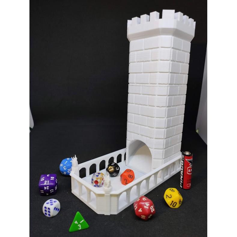 [Mã TOYJAN hoàn 20K xu đơn 50K] Tháp xúc xắc thời trung cổ – Dice Tower