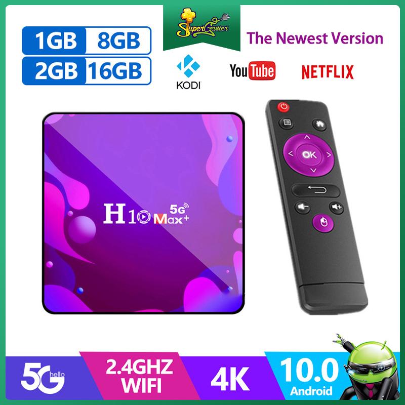 Trình Đa Phương Tiện H10 Max Plus 4k HD TV Box Wifi Bluetooth Android 10.0 HDMI 2.0 H3 4 Lõi Chất Lượn