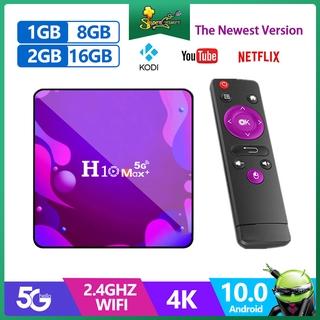 Trình Đa Phương Tiện H10 Max Plus 4k HD TV Box Wifi Bluetooth Android 10.0 HDMI 2.0 H3 4 Lõi Chất Lượng Cao