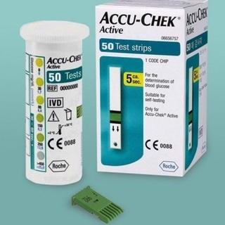 [Chính hãng] Hộp 25 50 que thử đường huyết Accu-Chek Active dùng cho máy Roche Đức, có tem niêm yết thumbnail