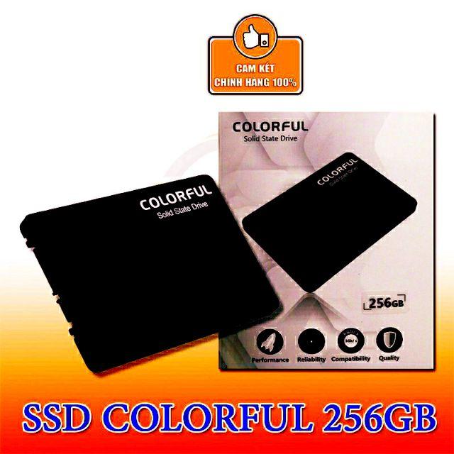 Ổ cứng SSD 256GB Colorful SL500 NWH Phân phối Giá chỉ 639.000₫