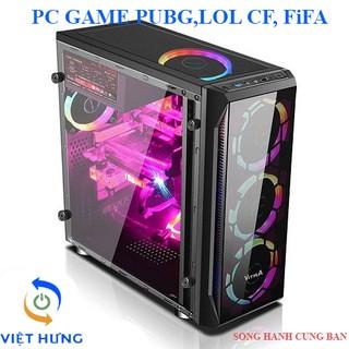 Bộ cây máy tính để bàn chơi game PUBG,LOL CF, FiFA…các game online, chạy giả lập, Dùng văn phòng, bảo hành 12 tháng