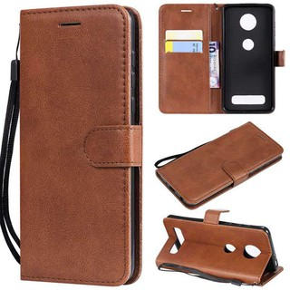 For Motorola Moto Z3 Play Z4 play Flip Wallet Leather