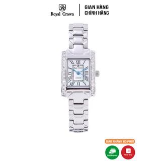 Đồng hồ nữ chính hãng Royal Crown 6306 dây thép thumbnail