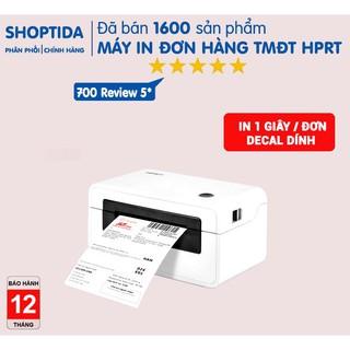Máy in đơn hàng TMĐT Shoptida HPRT N41 , máy in đơn tự dán tiết kiệm thời gian HPRT N41