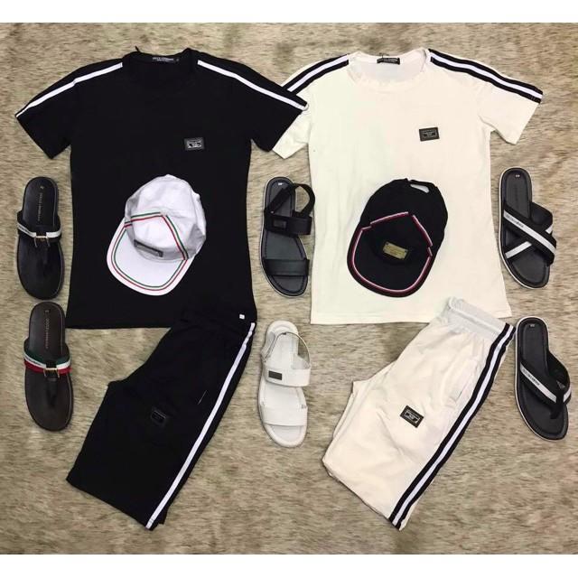 Set quần áo hè nam logo đôn chề