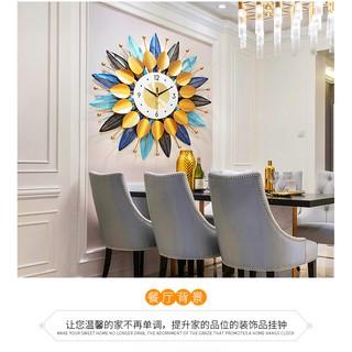 Đồng hồ treo tường hình cánh hoa Lian638 g-Lianzhuang