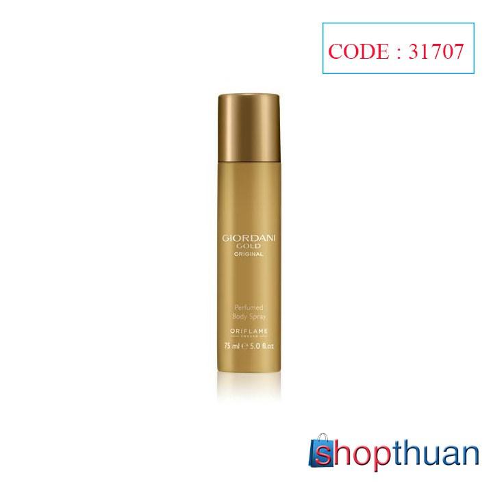 Xịt khử mùi Oriflame Giordani Gold Original Perfumed Body Spray - Oriflame 31707