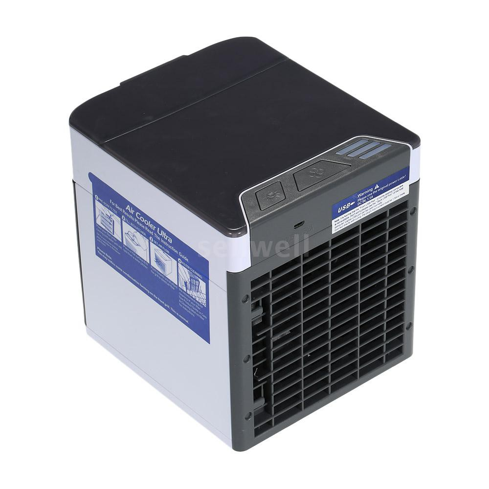 S&W USB Mini Fan Air Cooler Ultra Compact Portable Air Cooler Mini Air Conditioner