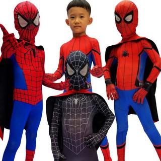 trang phục hóa trang người nhện cho halloween