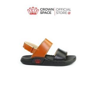Dép Quai Hậu Bé Trai Đi Học Chính Hãng Crown Space UK Sandals Trẻ em Nam Cao Cấp CRUK647 Nhẹ Êm Size 26-31/2-10 Tuổi