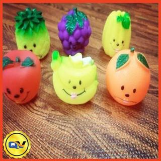 Bộ 6 đồ chơi hoa quả chít cỡ lớn cho bé