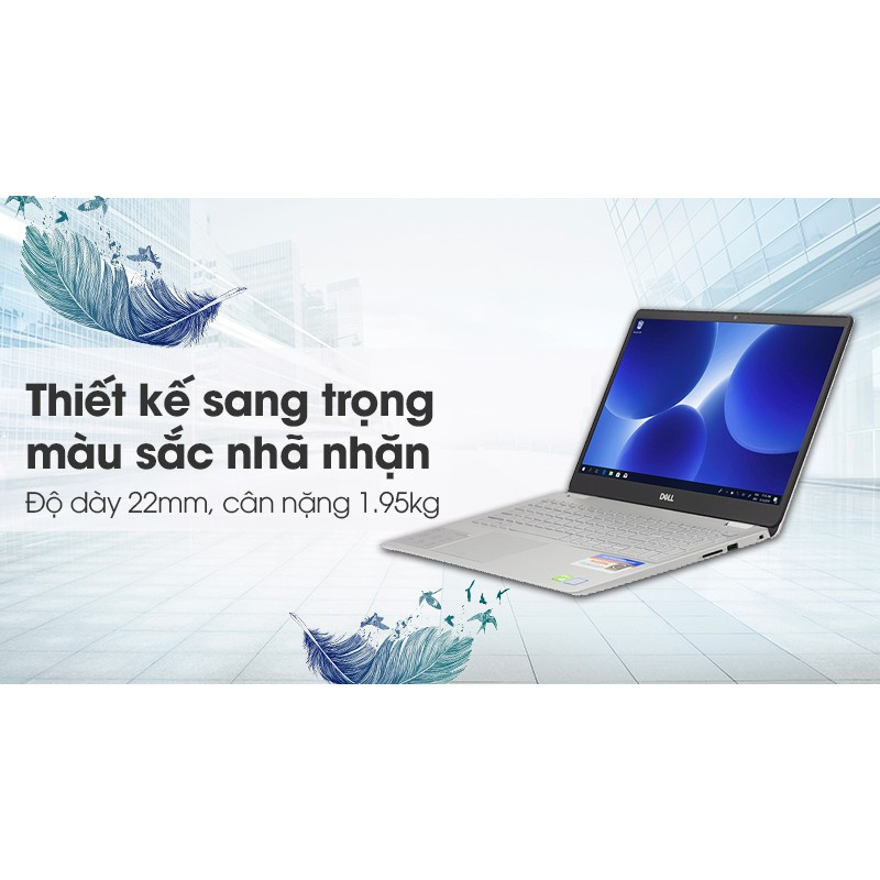 Dell Inspiron 5584 N5I5384W, Core™ i5 – 8265U/ RAM 4G/ HDD 1T/  VGA NVIDIA® GeForce MX130 met 2 GB GDDR5, 15.6″ FHD