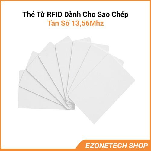 [Thẻ Dành Cho Sao Chép] Thẻ Từ RFID Tần Số 13,56Mhz Loại Mỏng