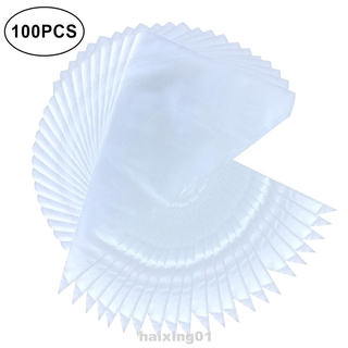 100pcs Large Thickened Dessert Decoration Durable Safe Pastry Bags