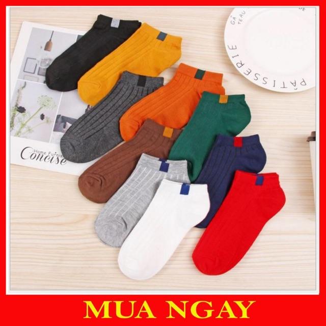 Tất Nữ Hàn Quốc Cổ Ngắm Nhiều Màu. Với chất len mềm mại, không bai không xù, thấm hút mồ hôi tốt,cổ ngắn nhiều màu👟👟👡