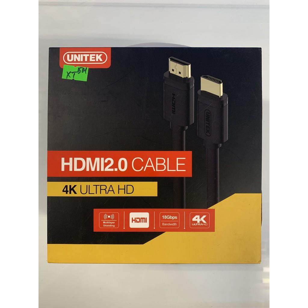 Cáp HDMI 5m Unitek Y-C140 Chính Hãng, Giá tháng 11/2020