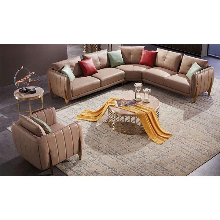 Ghế sofa góc da thật HFC-GSF185-44 ca