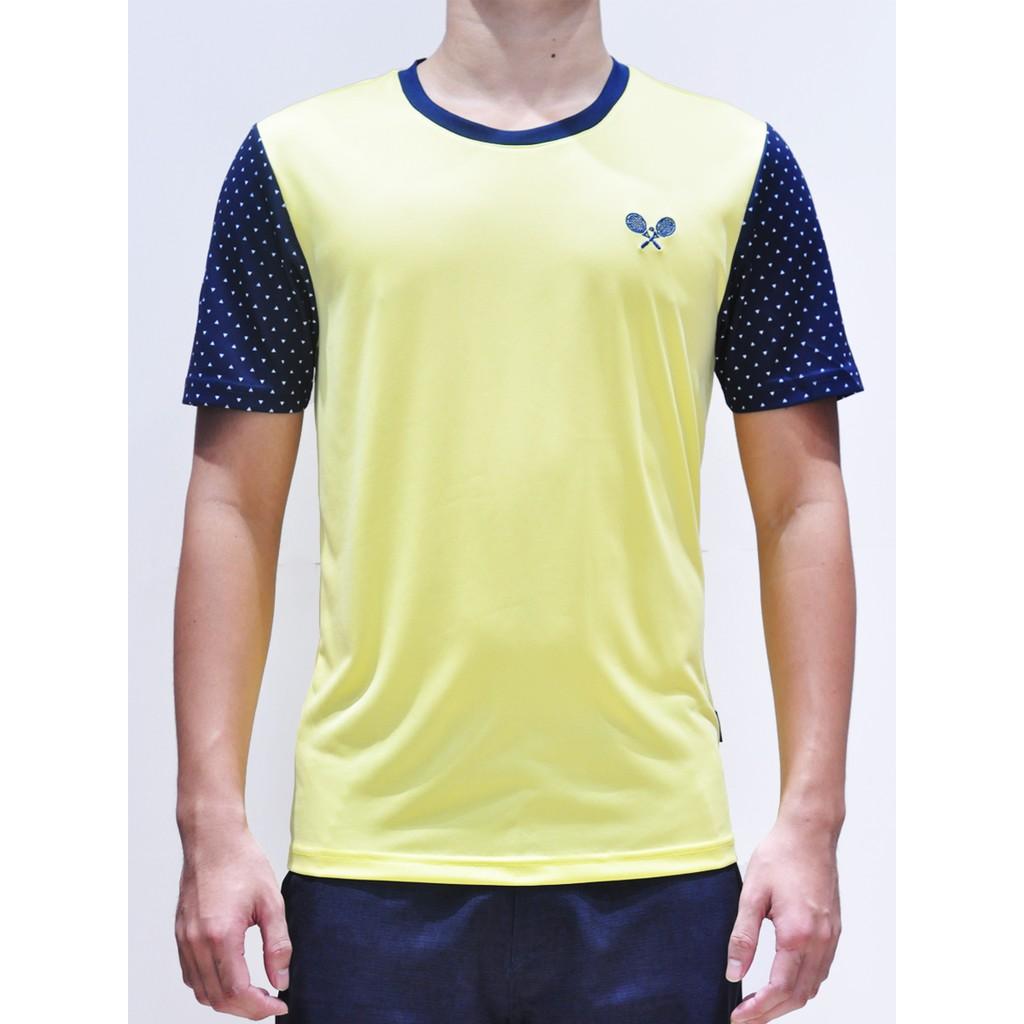 [Nhập mã MASO10 - giảm 10% - đơn trên 400K] Áo thể thao Tennis Nam Dunlop - DATEF7003-1-YL