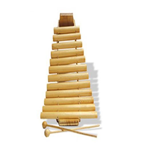 Đàn T'rưng bằng gỗ cho bé, hokiti, đồ chơi trẻ em, đồ chơi Việt Nam