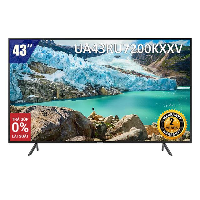 Smart Tivi Samsung 4K 43 inch UA43RU7200KXXV