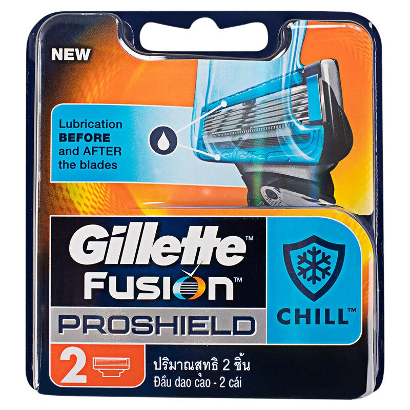 Gillette Fusion PROSHIELD CHILL Cart 2CT 2X10X4
