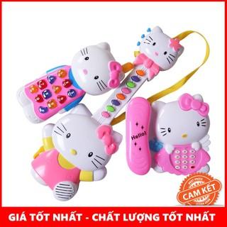 [CỰC ĐẸP] Bộ 3 nhạc cụ Kitty #1203