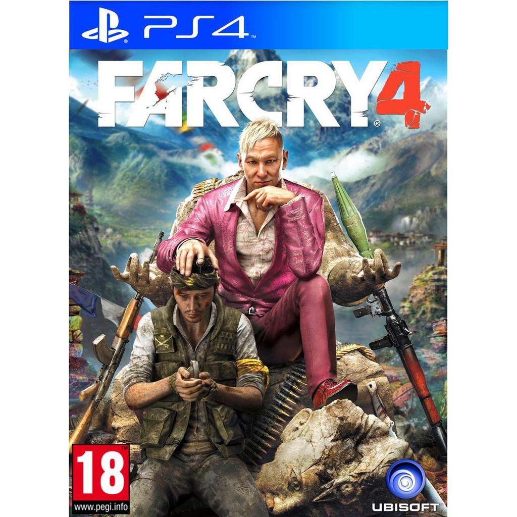 Đĩa Game PS4 Cũ - FarCry 4
