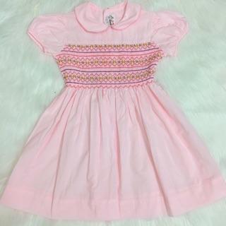 Đầm smock hồng cho bé ( Quỳnh anh)