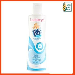 [CHÍNH HÃNG] Sữa tắm gội ngừa rôm sảy cho bé Lactacyd BB 250ml - Dung dịch tắm cho trẻ sơ sinh