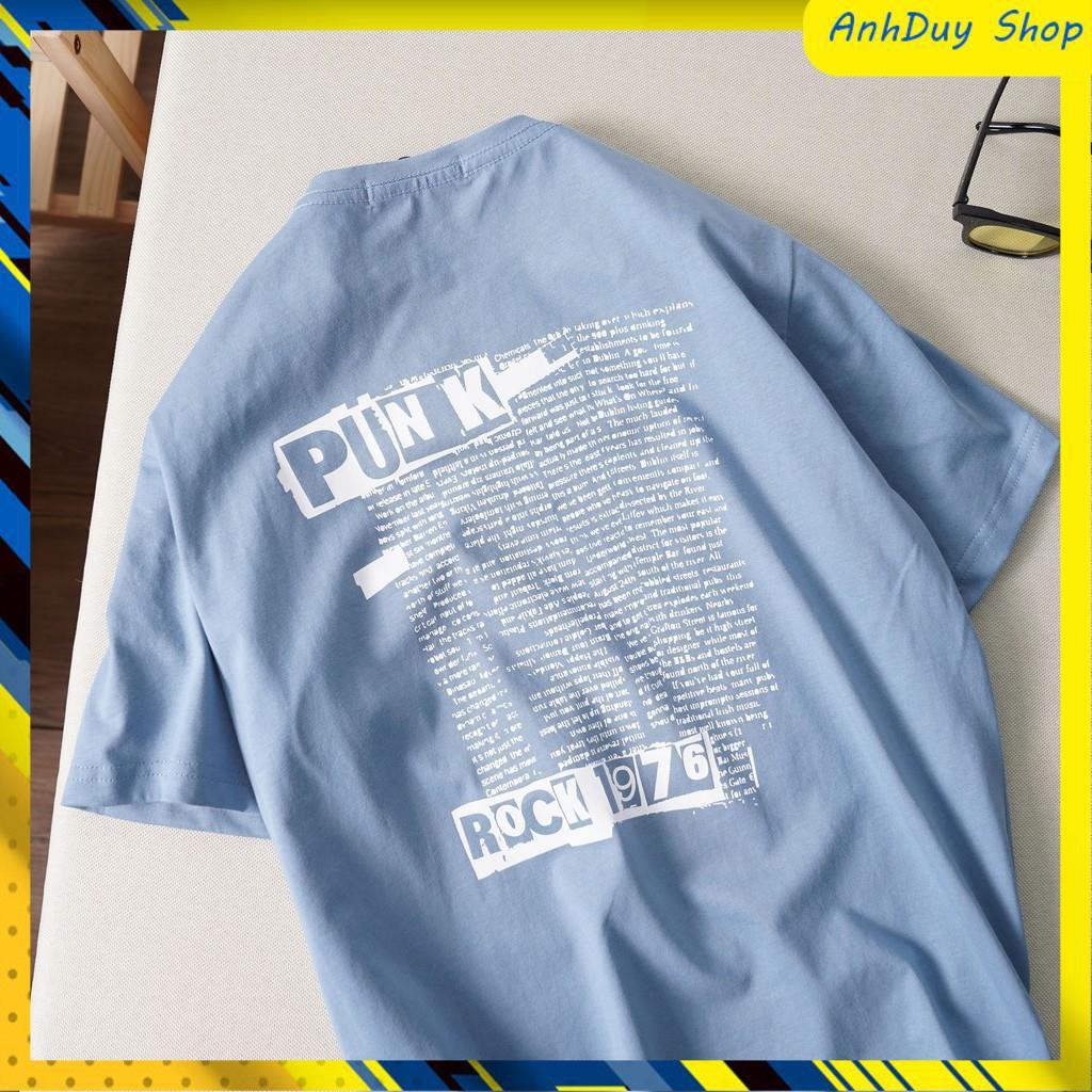 Áo phông nam ngắn tay, áo phông nam in chữ - APHTK048