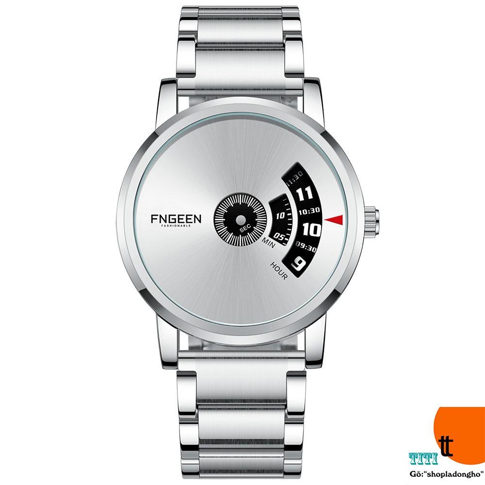 Đồng hồ nam chính hãng FNGEEN Chạy Dọc, hàng tốt (MÃ: FN101)