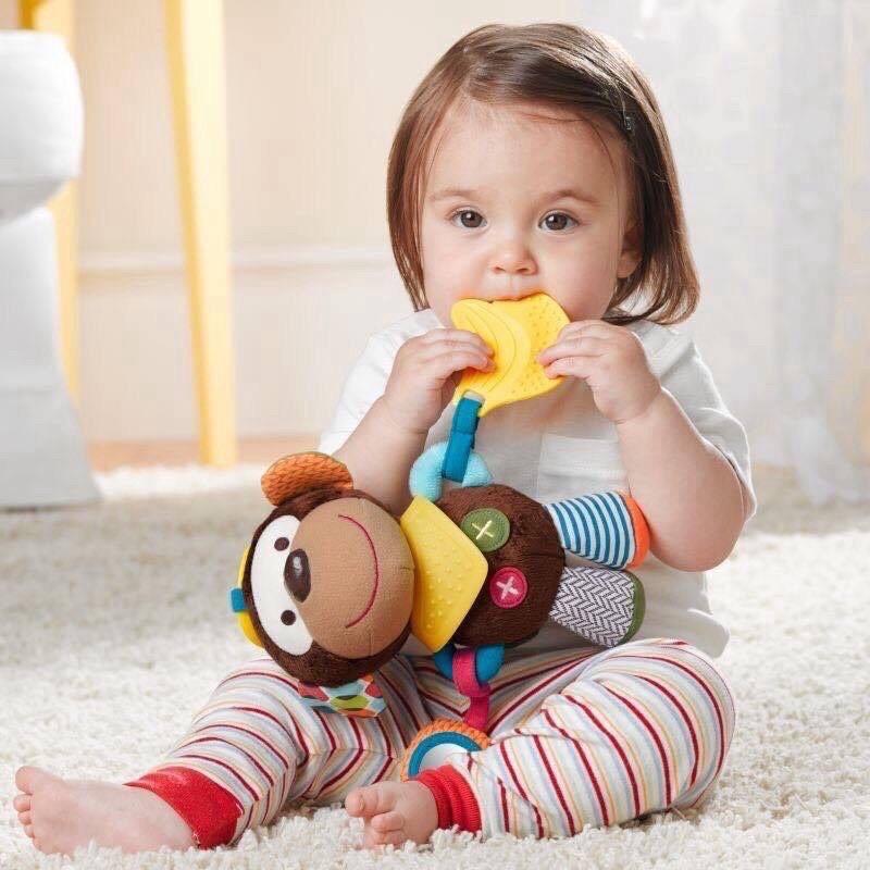 [chính hãng] THÚ PHÁT TRIỂN ĐA GIÁC QUAN - THÚ BÔNG SKK BABY