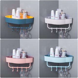 Kệ góc nhà tắm bằng nhựa 4 màu tiện lợi
