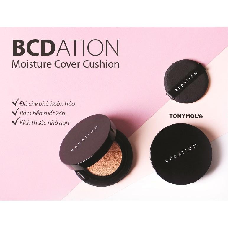 Phấn nước thông minh BCDation Moisture Cover Cushion - Tonymoly
