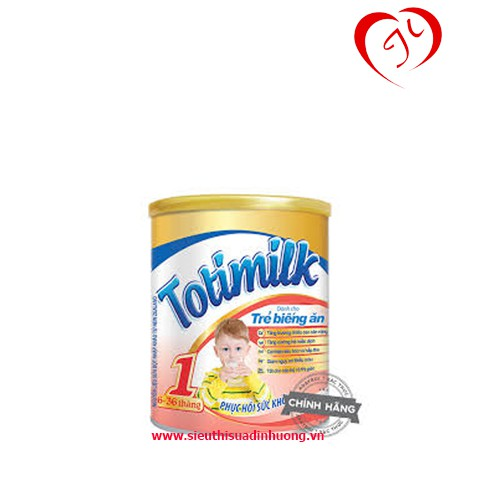 Combo 2 hộp Sữa Totimilk số 1 hộp 900g