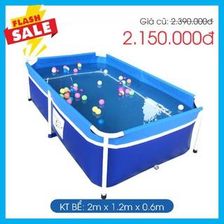 Bể bơi gia đình bestpool KT 1.2m*2m*0.6m