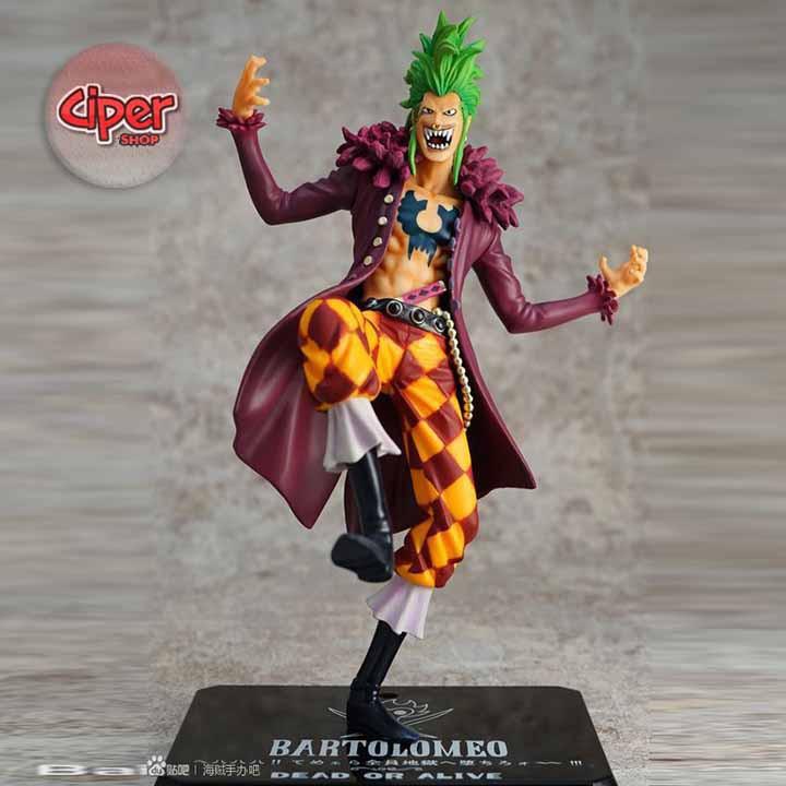 Mô hình Bartolomeo F.ZERO - Mô hình One Piece - 2988882 , 1022298447 , 322_1022298447 , 339000 , Mo-hinh-Bartolomeo-F.ZERO-Mo-hinh-One-Piece-322_1022298447 , shopee.vn , Mô hình Bartolomeo F.ZERO - Mô hình One Piece