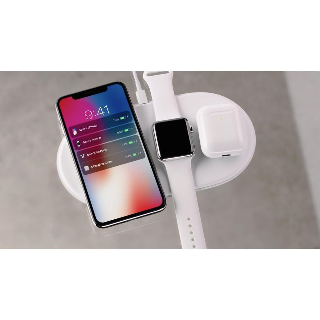 Đế sạc không dây Mini Airpower cho iPhone & Apple Watch - 3450393 , 1026415041 , 322_1026415041 , 749000 , De-sac-khong-day-Mini-Airpower-cho-iPhone-Apple-Watch-322_1026415041 , shopee.vn , Đế sạc không dây Mini Airpower cho iPhone & Apple Watch
