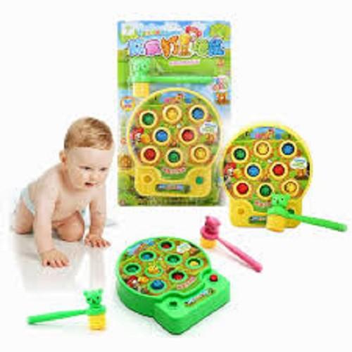 Đồ chơi đập chuột có nhạc dành cho bé trên 1 tuổi , đồ chơi tập phản xạ cho bé...