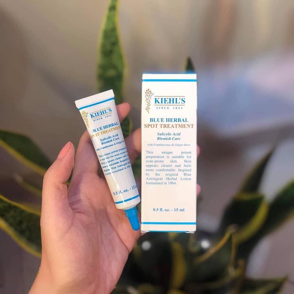Chấm mụn Kiehl's Blue Herbal