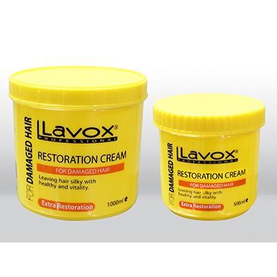 Hấp dầu phục hồi Lavox màu vàng mẫu mới chuyên nghiệp cho salon tóc 2 size FREESHIP dưỡng chất Collagen giúp phục hồi