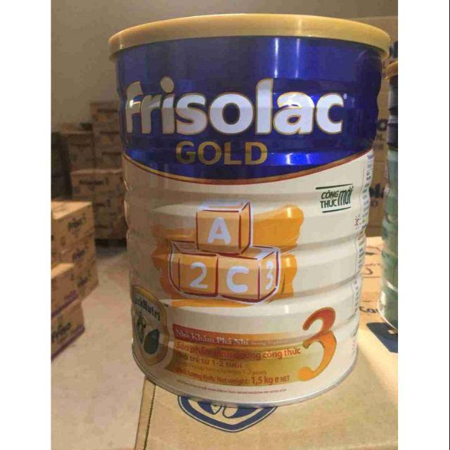Sữa frisolac gold 3-1,5kg